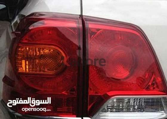 Toyota Land Cruiser FJ200 2012 2013 2014 2015 ABS Chrome Rear Back Light