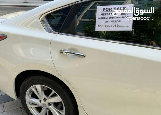للبيع نيسان التيما 2015 GCC استعمال سيده for sale nissan altima 2015 lady used
