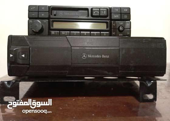 راديو كاسيت ومشغل سي دي مرسيدس شبح 1998