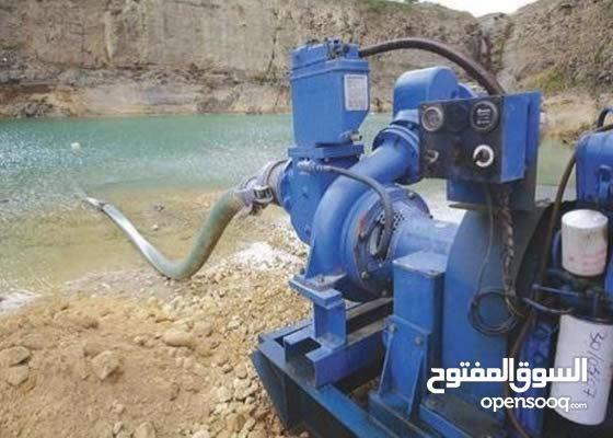 مقاول وتأجير مضخات نزح المياه الجوفية