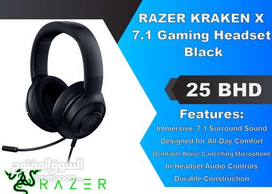 RAZER KRAKEN X 7.1 Gaming Headset - Black