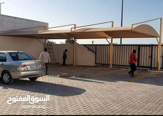 we make all kind of parking Shade and Tents. Windows and doors