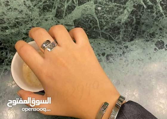 خواتم فضه مجوهرات إسل