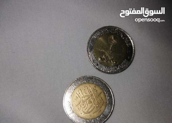 ريال من عهد الملك فهد والملك عبدالله