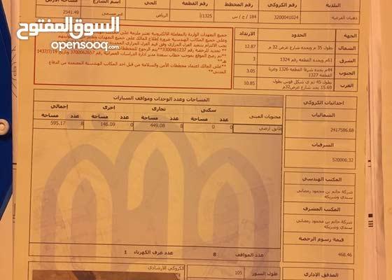 ارض في مخطط الرياض بجدة
