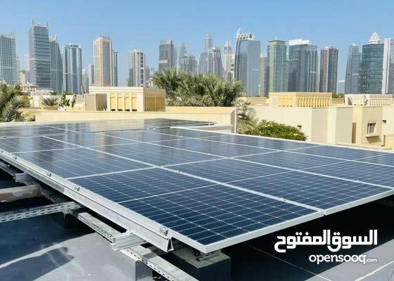 Solar system for villas