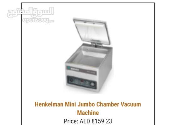 henkelman mini jumbo vacuum packer