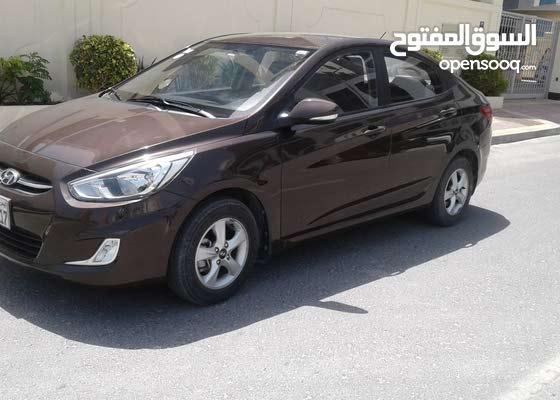 Hyundai Accent 2016 mid option with zero accident (Bahraini Car)