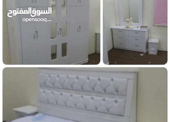 غرف نوم وطني جديده مع التركيب والتوصيل السعر1900ريال