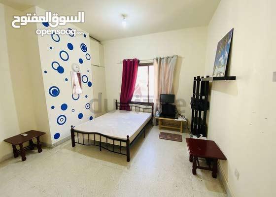 1 Room with bathroom for rent in Hamdan street.