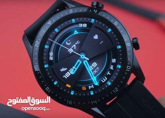للبيع ساعة هواوي Huawei GT2 46mm بحالة ممتازة السعر 55 دينار للتواصل للجادين 33663553