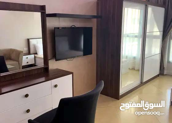 استوديو مفروش للايجار واجهة بحرية بالسالمية hotel rooms sea view for monthy rent