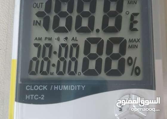 جهاز قياس درجة الحرارة والرطوبة ديجيتال لحضانات الطيور