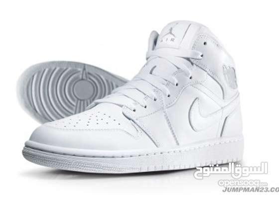Air jordan 1 all white (brand new with box)