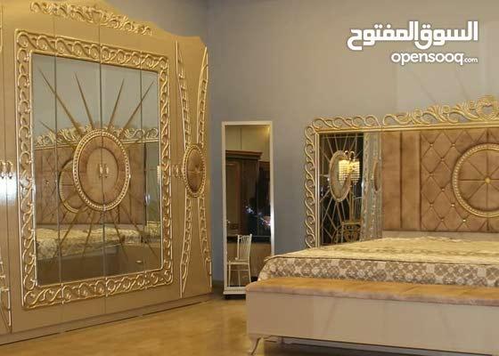 غرف نوم تركي احدث انواع الغرف والمديلات يوجد لدينا  9قطع و8قطع و5قطع و10قطع 11قط