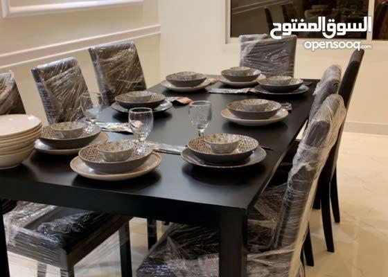 طاولة طعام أثاث غرف سفرة جديد الرياض بدر 137951396 السوق المفتوح