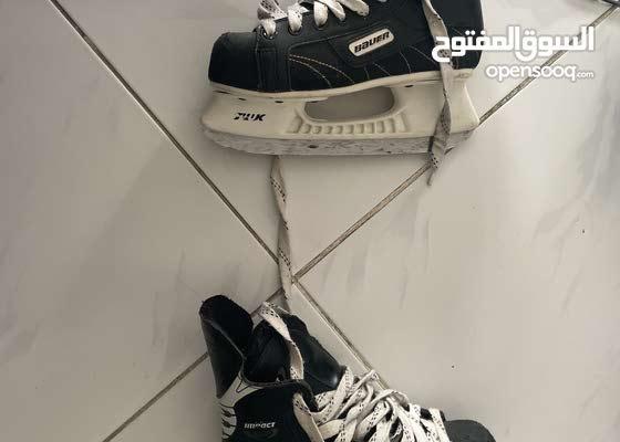 ice skates and roller skates