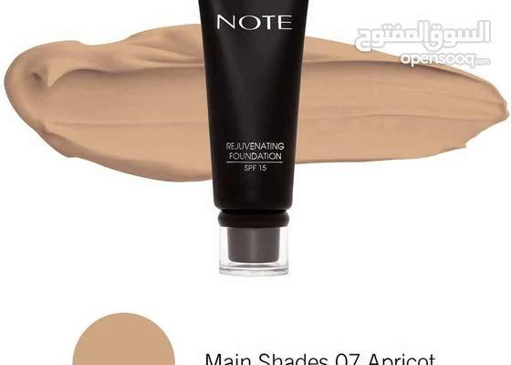 NOTE REJUVENATING FOUNDATION  TUBE - Main Shades 07 Apricot