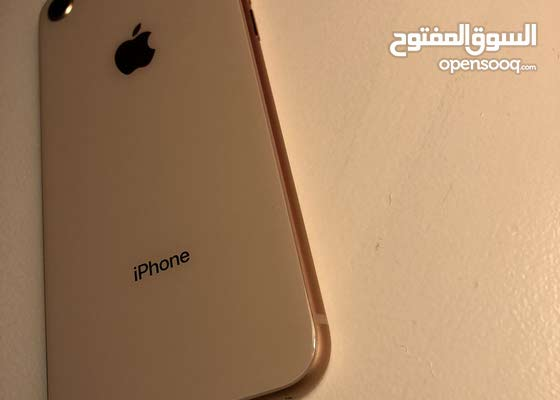 ايفون 8 64GB مستعمل بحالة الجديد ولا خدش