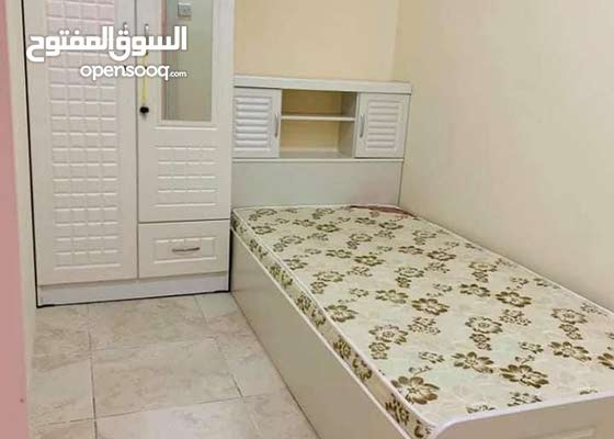 Brand new White Single Wood Bed With Medicated Mattress