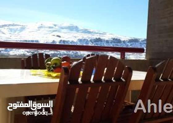REDUCED Superb view escape in Faraya furnished شاليه فاريا مفروش منظر رائع