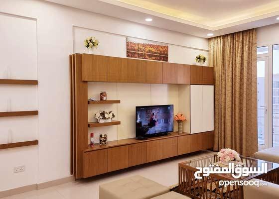 للايجار شقة مفروشة بالكامل شامل الماء والكهرباء في الحد الجديد تتكون من  غرفتين
