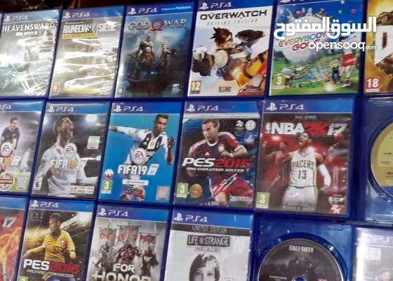 Ps4 used games clean cds