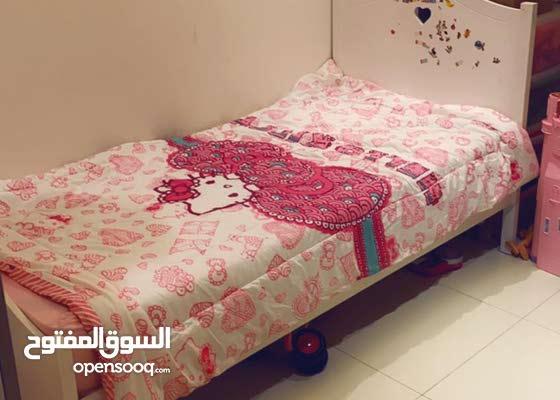 غرفه نوم اطفال بحاله ممتازه للبيع