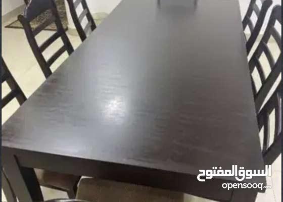 dinning table for sale طاوله طعام للبيع