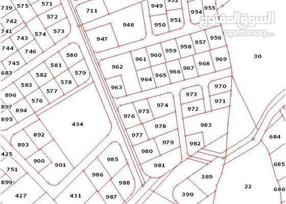 قطعة ارض للبيع في ابونصير