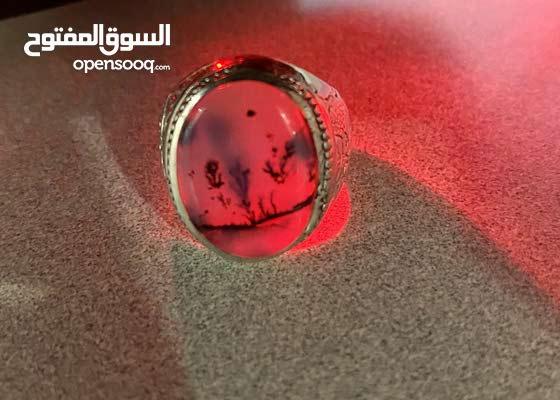 للبيع خاتم عقيق يماني