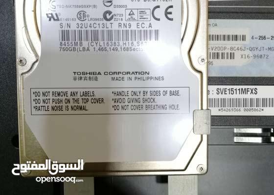 هاردسك مفكوك من لابتوب 750GB أصلي جديد