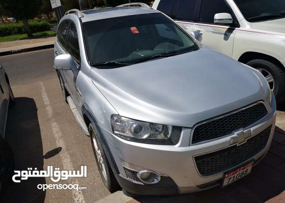 captiva 2012 good condition, no accidents  شيفروليه كابتيفا 2012