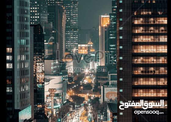 بنايه لليجار بناء 2021 قاعات مفتوحة 6طوابق