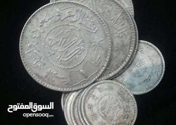 ريالات عربي من عام 1354 عهد الملك عبدالعزيز