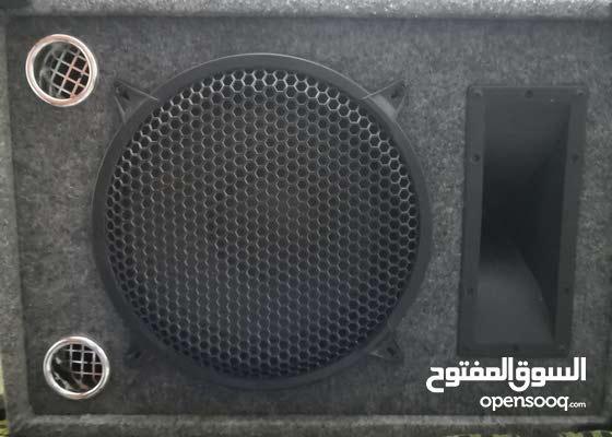 جهاز صوت وكاله مع سماعه تب نظافه للبيع
