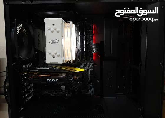 Gaming PC with Monitor: Ryzen 5 3600, GTX 1070