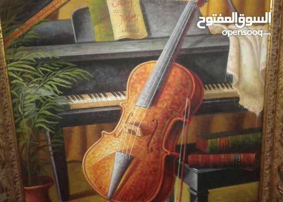 لوحة فنية للرسامoliveri  طول 90 عرض60