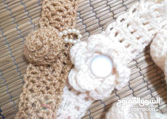 Handmade Crochet Headbands for Babies
