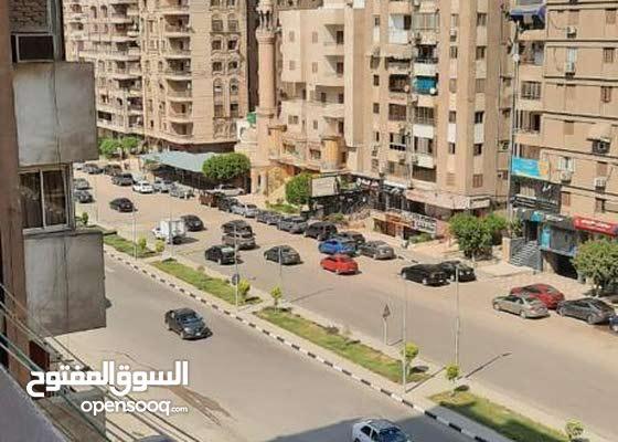 شقه بمدينة نصر شارع أحمد فخري الرئيسي مفروشه للإيجار الشهري من المالك مباشراً