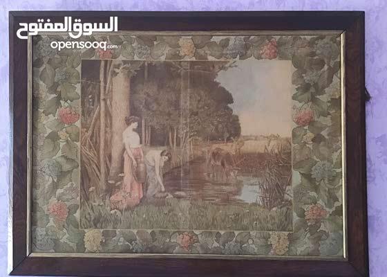 لوحة فنية نادرة ، حوالي قرن