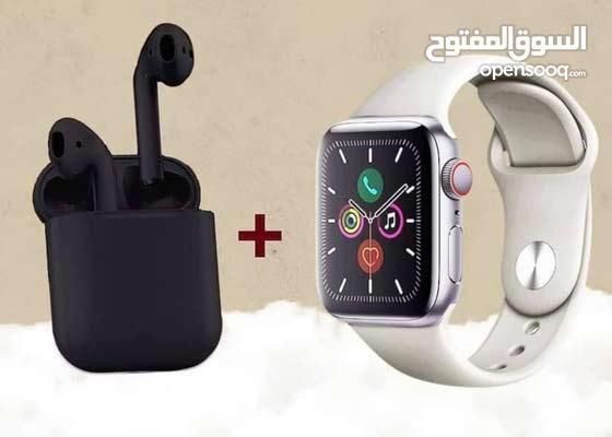 smart watch and earpods