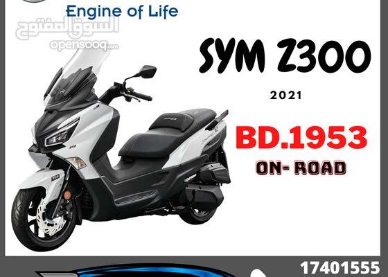New Sym Joymax z300 Scooter