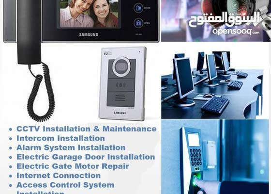 CCTV, Access Control, networking, security system, fiber installation splicing