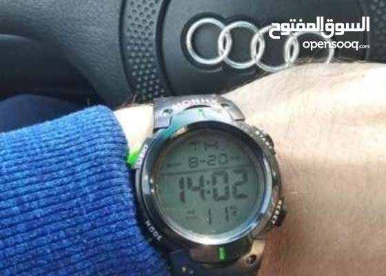 new style digital hand watch