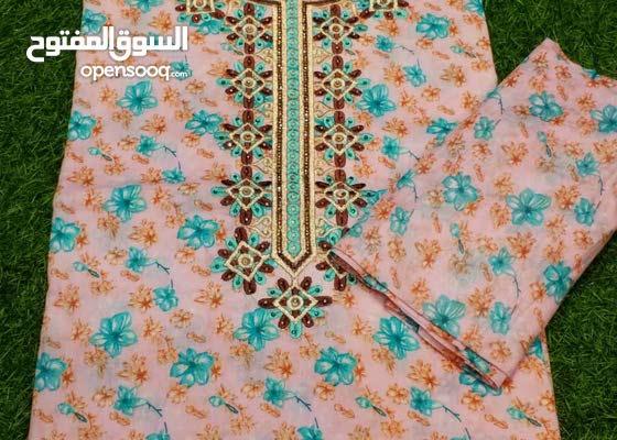 أم الإسراء لجلبيات وشيلات قطن عماني صوري