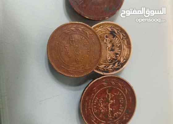 عملات تاريخية اردنية للبيع من 1949 إلى 1996