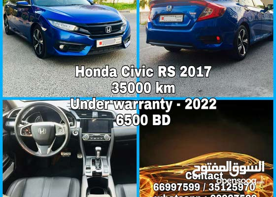 Honda Civic RS 2017 for sale