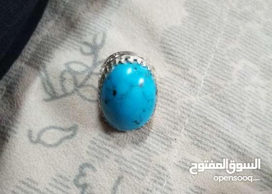 خاتم فيروز اصلي