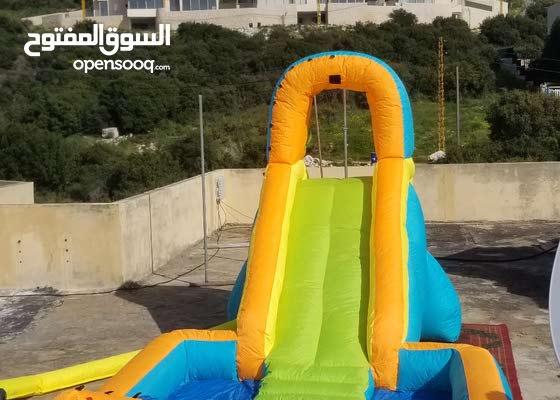 زحليطة slide for sale with blower